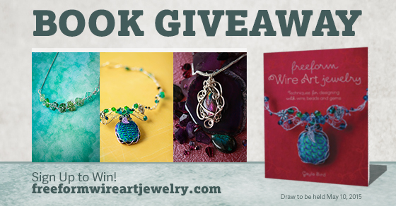 Sign Up to Win Freeform Wire Art Jewelry