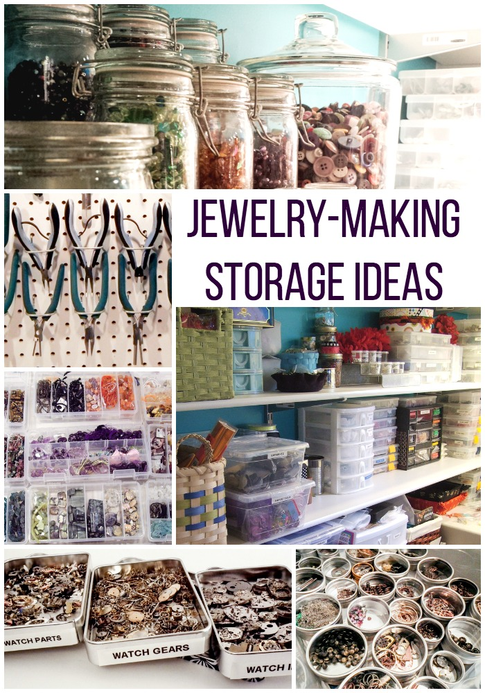 4 inspirational ideas for jewelry making storage gayle
