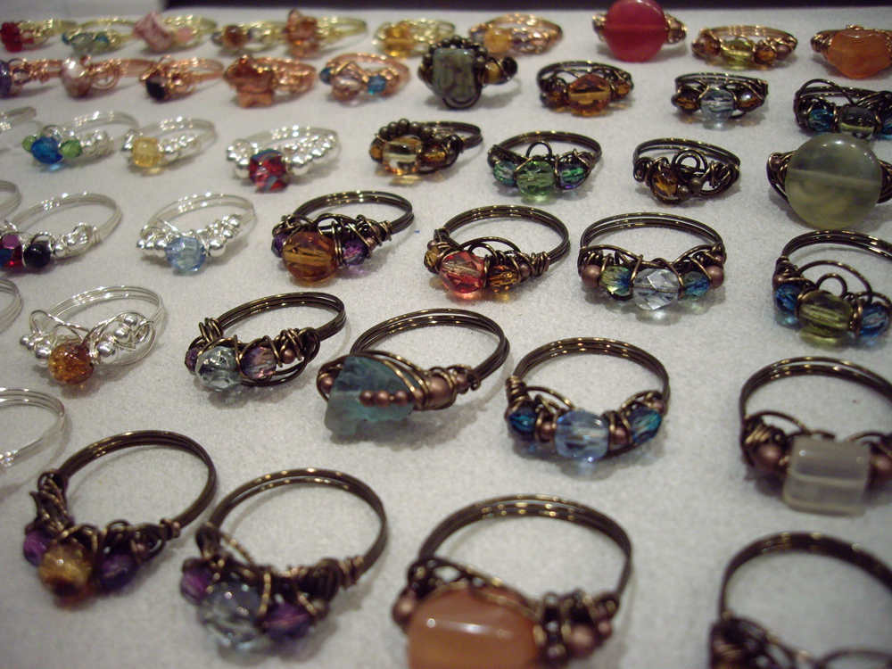 Learn How to Make Your Own Wire-Wrapped Rings
