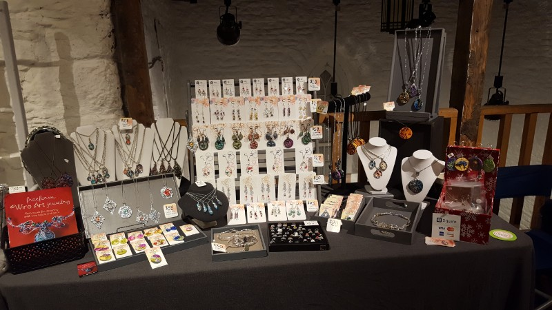 Creating a Cohesive Display for a Jewellery Booth